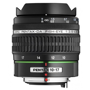 Pentax DA 10-17mm f/3.5-4.5 ED (IF) Fish-Eye Lens for Pentax DSLR