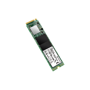 Transcend PCIe M.2 SSD 512GB Solid State Drive  NVMe PCIe Gen3 x4 80mm  TS512GMTE110S