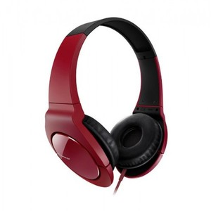 Pioneer Head Band Closed Dynamic Stereo Headphones | SE-MJ721-R Red