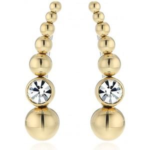 Michael Kors Gold Tone Crawler Stud Earrings