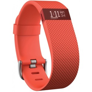 Fitbit Charge HR Wireless Activity Wristband Tangerine
