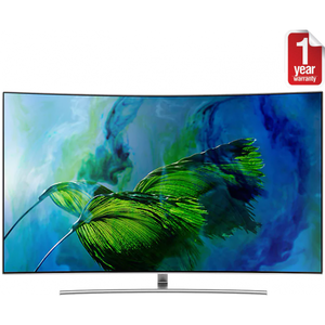 """Samsung 65"""" Q8C 4K Curved Smart QLED TV"""