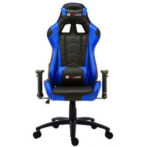 Warlord Huntsmen Gaming Chair - Black/Blue (HTG-WRD-GCH016)