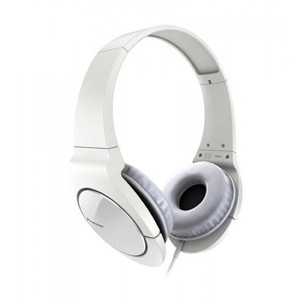 Pioneer Head Band Closed Dynamic Stereo Headphones | SE-MJ721-W White