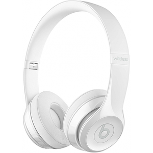 Beats Solo 3 Wireless Headphones - Gloss White