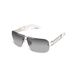 Guess Mens Gothic Logo Rimless Sunglasses