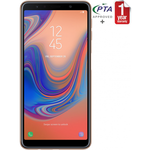Samsung Galaxy A7 (2018) Gold with Free Samsung Power Bank
