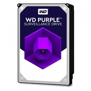 WD Purple 3TB Surveillance Hard Disk Drive 3.5 Inch