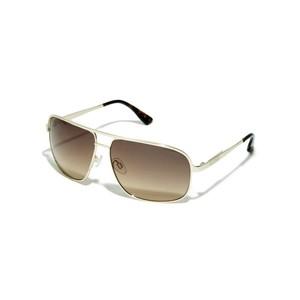 Guess Mens Double-Bridge Navigator Sunglasses