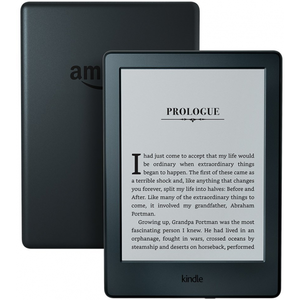 Amazon Kindle E-reader 6 Glare-Free Display Built-In Audible - Includes Special Offers - Black
