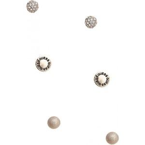 Guess Womens Gold-Tone Fireball Stud Earrings Set
