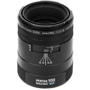 Pentax-D FA 100mm f/2.8 WR Macro Lens