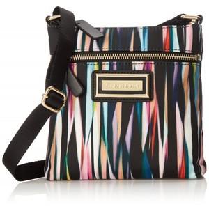 Calvin Klein 4 AJ Nylon Cross Body Bag Acai Stripe