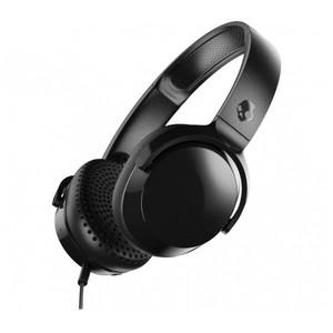 Skullcandy Riff On-Ear Headphones with Mic - Black/Black