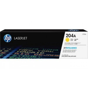 HP 204A Yellow Original LaserJet Toner Cartridge (CF512A)