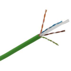 3M DE010024334 Cable Twisted Pair Cat. 6  Un-shielded  U / Utp  4 Pairs  Pvc (305 M)  Green