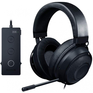 Razer Kraken Tournament Edition - Wired Gaming Headset with USB Audio Controller - Black