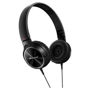 PIONEER Fully Enclosed Dynamic Headphones SE-MJ522-K (Black)