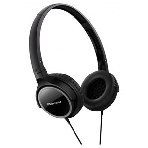 PIONEER Fully Enclosed Dynamic Headphones SE-MJ512-K (Black)