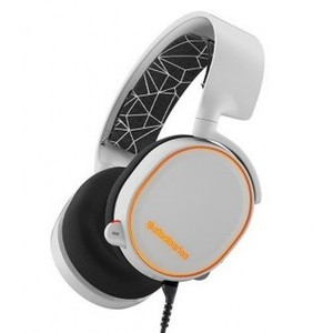 Steelseries Arctis 5 7.1 Surround Rgb Gaming Headset - White