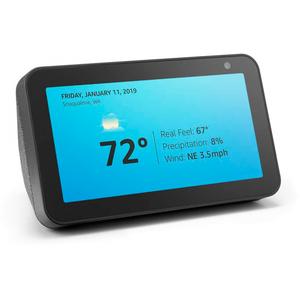 Amazon Echo Show 5 – Smart alarm clock with Alexa - Charcoal