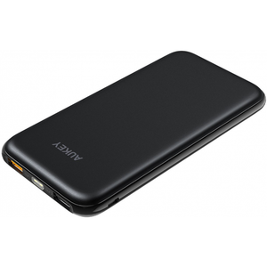 Aukey 10000mAh Portable Charger Slimline Design Power Bank