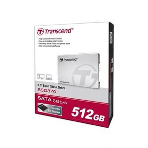 Transcend 512GB MLC SATA III 6Gb/s 2.5 Solid State Drive 370 (TS512GSSD370S)