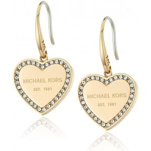 Michael Kors Core Gold-Tone Drop Earrings