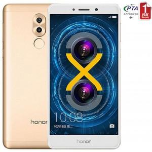 Huawei Honor 6X - 5.5inch+Fingerprint Scanner+Dual Lens 12MP+2MP+3GB Ram - Gold