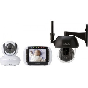 Motorola FOCUS360 Remote Wireless 3.5 Monitor with Indoor/Outdoor Camera Units
