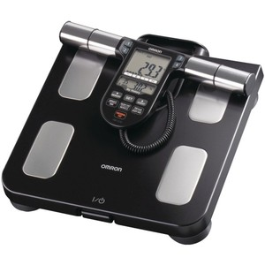 Omron Body Composition Monitor with Scale - 7 Fitness Indicators & 180-Day Memory HBF-516B