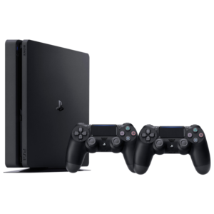 Approved Used Sony PlayStation 4 Slim 500GB With Two Controllers