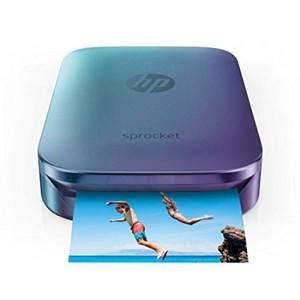HP Sprocket Photo Printer Blue
