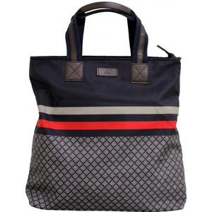 Gucci Blue Unisex Diamante Tote Travel BAG 268112