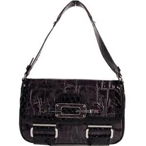 Guess Womens Autumn Shine Hobo Bag Handbag  Black