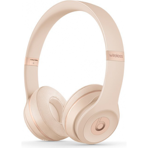 Beats Solo 3 Wireless Headphones - Matte Gold