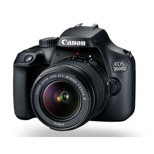 Canon EOS 3000D with 18-55mm
