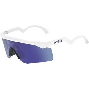 Oakley Razor Blade Heritage Collection Sunglasses Color Name: White/Violet Irid