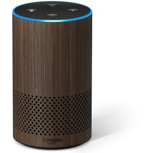 Amazon Echo 2nd Generation – Walnut Finish