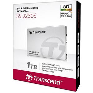 Transcend 1TB SSD 230S SATA III 2.5 3D NAND Internal SSD