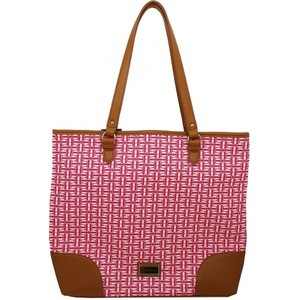 Tommy Hilfiger Womens Mag Tote Hand Bag