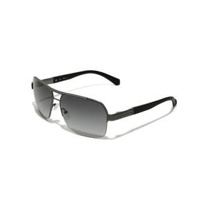 Guess Mens Half-Rim Navigator Sunglasses