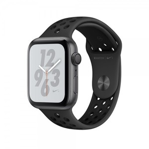 Apple Watch Nike+ Series 4 44mm GPS Space Gray Aluminum Case with Anthracite/Black Nike Sport Band MU6L2