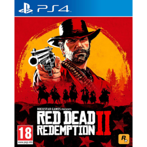 Sony PS4 Slim 500GB Red Dead Redemption 2 Bundle