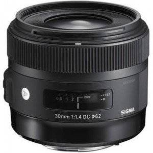 Sigma 30mm f/1.4 DC HSM Lens for Canon