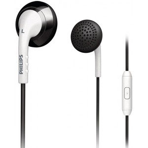 Philips SHE2675BW/28 In-Ear Headset (White/Black)
