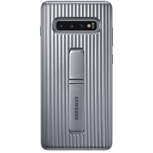 Samsung Protective Standing Cover Silver for Galaxy S10