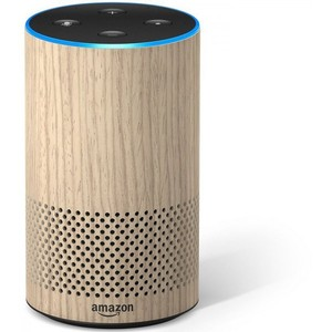 Amazon Echo 2nd Generation – Oak Finish