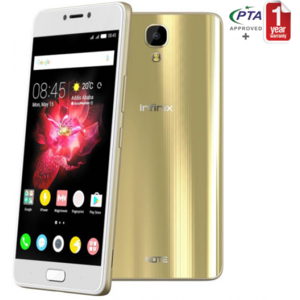 Infinix NOTE4 - 4300mAh battery + Xcharge - 3GB+32GB - Champagne Gold