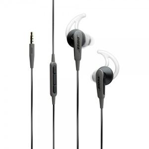 Bose SoundSport In-Ear Headphones-Apple Devices Charcoal Black - 741776-0010